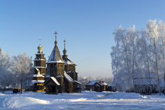 Ξύλινη εκκλησία Στοκ Φωτογραφία