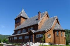 Ξύλινη εκκλησία Gol Στοκ φωτογραφία με δικαίωμα ελεύθερης χρήσης