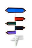 Ξύλινη θέση σημαδιών που απομονώνεται Στοκ εικόνες με δικαίωμα ελεύθερης χρήσης