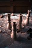 Ξύλινη διακόσμηση τεμαχίων για τη διακόσμηση shisha σε ένα ξύλινο υπόβαθρο Στοκ εικόνες με δικαίωμα ελεύθερης χρήσης