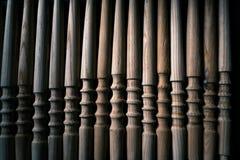 Ξύλινη διακόσμηση τεμαχίων για τη διακόσμηση shisha σε ένα ξύλινο υπόβαθρο Στοκ Φωτογραφίες