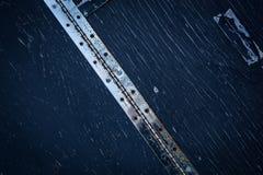 Ξύλινη και μεταλλική σύσταση Στοκ φωτογραφία με δικαίωμα ελεύθερης χρήσης