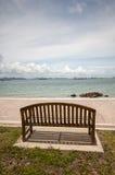 Ξύλινη καρέκλα Koh Sichang Στοκ Εικόνες