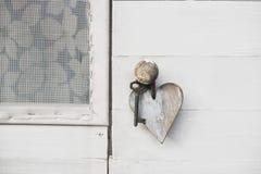 Ξύλινη καρδιά Στοκ Φωτογραφίες