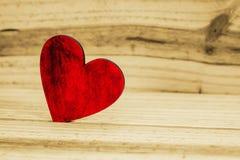 Ξύλινη καρδιά Στοκ εικόνες με δικαίωμα ελεύθερης χρήσης