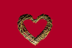 Ξύλινη καρδιά Στοκ φωτογραφία με δικαίωμα ελεύθερης χρήσης