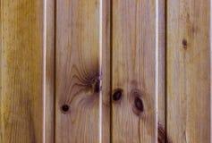 Ξύλινη καφετιά σύσταση σανίδων Στοκ Εικόνες