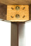 Ξύλινη κοινή κατακόρυφος Στοκ εικόνα με δικαίωμα ελεύθερης χρήσης