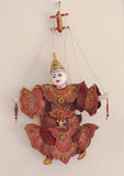 Ξύλινη μαριονέτα Στοκ εικόνα με δικαίωμα ελεύθερης χρήσης