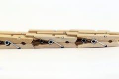Ξύλινη ομάδα καρφιτσών στοκ φωτογραφία με δικαίωμα ελεύθερης χρήσης