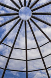 Ξύλινη δομή θόλων Στοκ Φωτογραφία