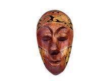 Ξύλινη παραδοσιακή μάσκα Στοκ Εικόνες