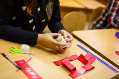 Ξύλινη περίληψη φραγμών παιχνιδιών με το bokeh Στοκ φωτογραφία με δικαίωμα ελεύθερης χρήσης