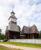 Ξύλινη περιοχή παγκόσμιων κληρονομιών της ΟΥΝΕΣΚΟ εκκλησιών Στοκ Εικόνες