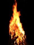 Ξύλινη πυρκαγιά Στοκ Φωτογραφίες