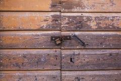Ξύλινη πόρτα σύστασης επιτροπών Στοκ εικόνα με δικαίωμα ελεύθερης χρήσης
