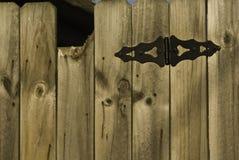 Ξύλινη πύλη Στοκ φωτογραφίες με δικαίωμα ελεύθερης χρήσης