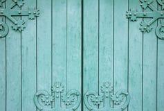 Ξύλινη πύλη Στοκ εικόνα με δικαίωμα ελεύθερης χρήσης