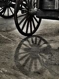 Ξύλινη ρόδα Στοκ Φωτογραφίες