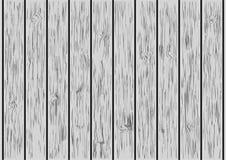 Ξύλινη σανίδα, ξύλινο υπόβαθρο τοίχων - διανυσματική απεικόνιση Στοκ Εικόνα