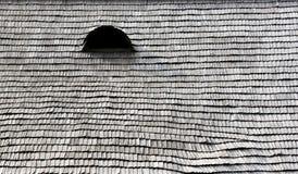 Ξύλινη στέγη με το μάτι Στοκ Φωτογραφίες