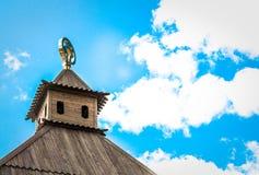 Ξύλινη στέγη Στοκ Εικόνες