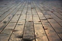 Ξύλινη σύσταση πινάκων πατωμάτων Στοκ εικόνες με δικαίωμα ελεύθερης χρήσης