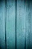 Ξύλινη σύσταση πορτών Aqua Στοκ Φωτογραφία