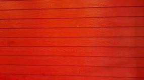 Ξύλινη σύσταση στο κόκκινο χρώμα Στοκ Εικόνες