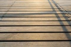 Ξύλινη σύσταση Sunlited Στοκ Φωτογραφία