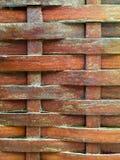 Ξύλινη λυγαριά για το υπόβαθρο στοκ εικόνα με δικαίωμα ελεύθερης χρήσης
