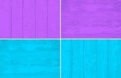 Ξύλινη χρωματισμένη πίνακας απεικόνιση υποβάθρου Διανυσματική σύσταση Eps10 Απεικόνιση αποθεμάτων