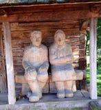 Ξύλινοι άνθρωποι Στοκ Εικόνα