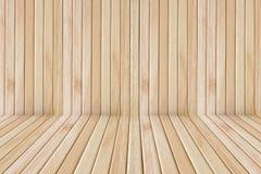 Ξύλινοι στάδιο και τοίχος πατωμάτων Στοκ φωτογραφία με δικαίωμα ελεύθερης χρήσης