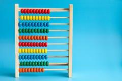 Ξύλινος άβακας χρώματος Στοκ εικόνα με δικαίωμα ελεύθερης χρήσης