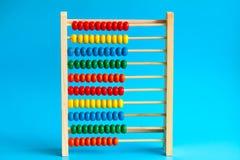 Ξύλινος άβακας χρώματος Στοκ φωτογραφία με δικαίωμα ελεύθερης χρήσης