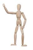 Ξύλινος άνθρωπος Στοκ εικόνα με δικαίωμα ελεύθερης χρήσης