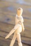 Ξύλινος άνθρωπος Στοκ Εικόνες