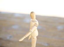 Ξύλινος άνθρωπος Στοκ Εικόνα