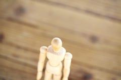 Ξύλινος άνθρωπος Στοκ φωτογραφία με δικαίωμα ελεύθερης χρήσης