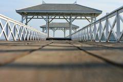 Ξύλινη προκυμαία Στοκ εικόνες με δικαίωμα ελεύθερης χρήσης