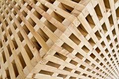 Ξύλινος κύβος γρίφων Στοκ εικόνα με δικαίωμα ελεύθερης χρήσης