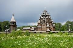 Ξύλινος ναός εκκλησιών Στοκ φωτογραφία με δικαίωμα ελεύθερης χρήσης