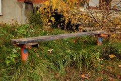 Ξύλινος πάγκος Στοκ εικόνα με δικαίωμα ελεύθερης χρήσης