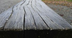Ξύλινος πάγκος Στοκ Εικόνες