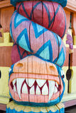 Ξύλινος δράκος Στοκ εικόνες με δικαίωμα ελεύθερης χρήσης