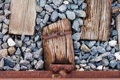 Ξύλινος σίδηρος και Stone στοκ φωτογραφία