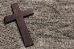 Ξύλινος σταυρός Στοκ Φωτογραφία