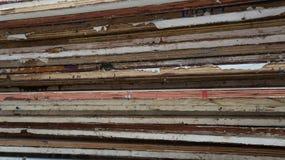 Ξύλινος σωρός Στοκ Εικόνα