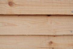 Ξύλινος τοίχος σπιτιών Στοκ φωτογραφία με δικαίωμα ελεύθερης χρήσης